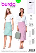 6431 Burda Pattern: Ladies Skirt